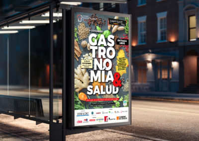 Congreso Gastronomía y Salud – Campaña